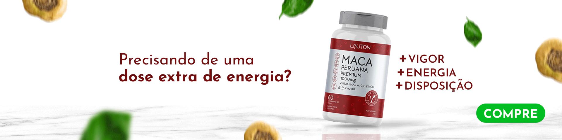 Maca Peruana Premium - Lauton Nutrition 2021