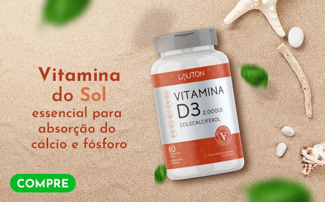 Vitamina D3 - Lauton Nutrition - Inferior